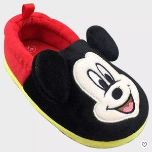 Boys' Disney Mickey Mouse Slide Slippers - Red